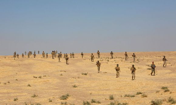 In die Millionenstadt Mossul selbst sollen nur die irakische Armee und sunnitische Kämpfer (Bild) vordringen. / Bild: REUTERS