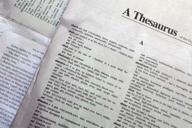 Dictionary Vs Thesaurus Difference And Comparison Diffen