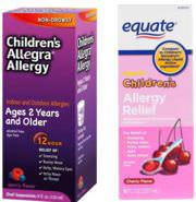 Image Result For Equate Allergy Relief Vs Benadryl