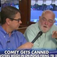 Fox News Reporter Asks Man In Diner About Comey Firing, Hurries Away When He Brings Up Putin