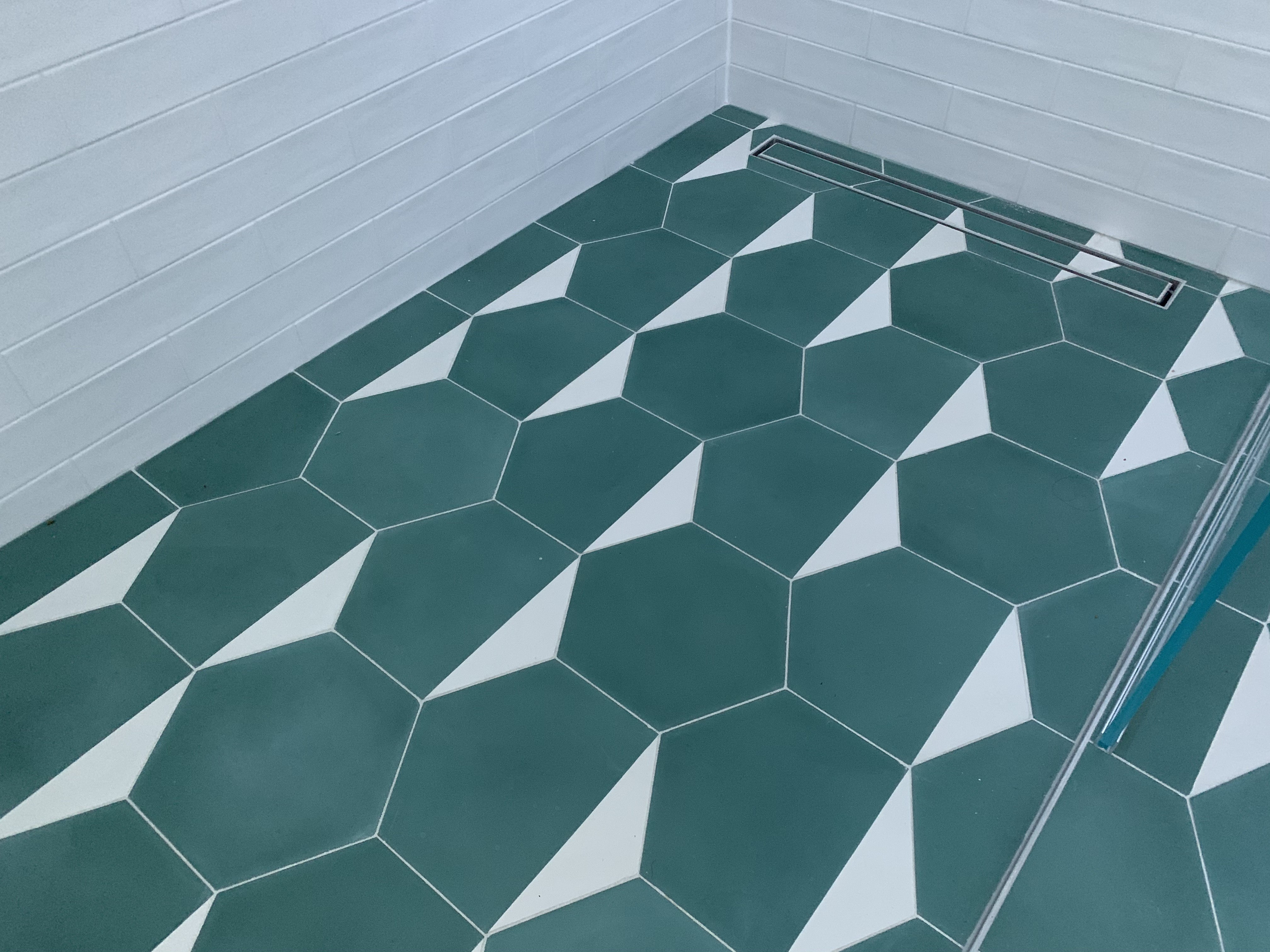 cement hex tiles boxeskelly collection