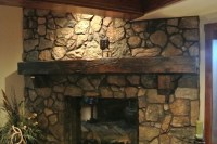Reclaimed Barn Wood Fireplace Mantels Hollowed Out For ...
