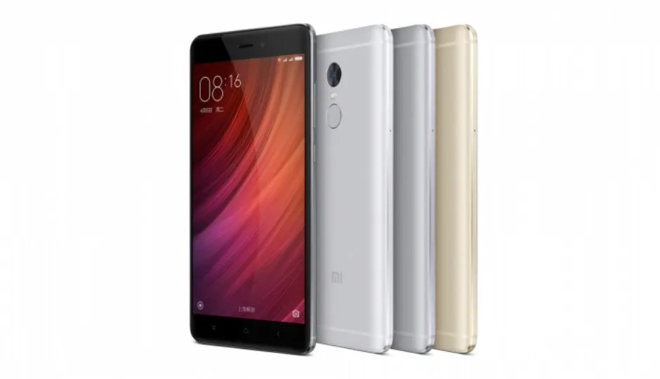 Xiaomi Redmi Note 4 with Helio X20 SoC, 4100mAh battery launched...