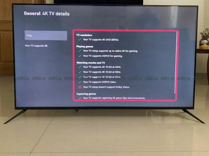 O Realme SLED pode mostrar conteúdo em 4K e HDR, mas não em Dolby Vision