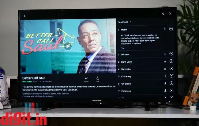 Thomson LED Smart TV B9 102cm 40 Review Digitin