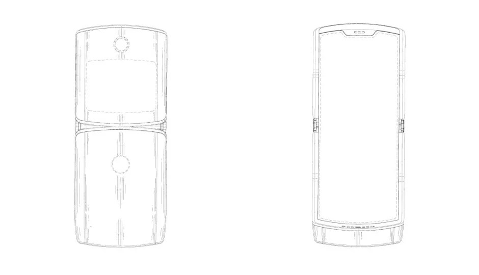 New Motorola patent hints at Moto Razr with foldable
