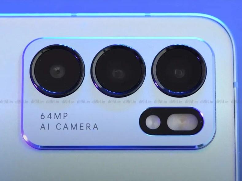 Oppo Reno 6 5G cameras
