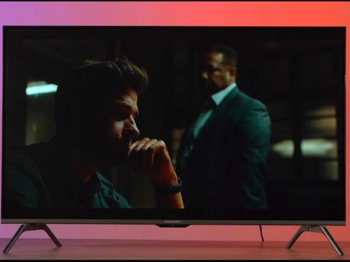Jack Ryan tocando em HDR na Blaupunkt TV