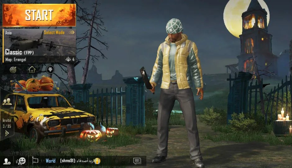 PUBG Mobile Updated To V090 Gets Night Mode Halloween Theme And Costumes Digitin