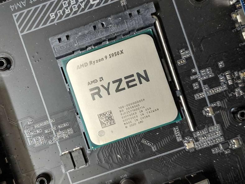AMD Ryzen 9 5950X Desktop processor Review Motherboard Gaming
