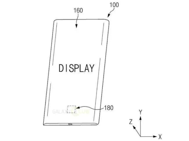 Samsung files patent for pressure-sensitive under-display