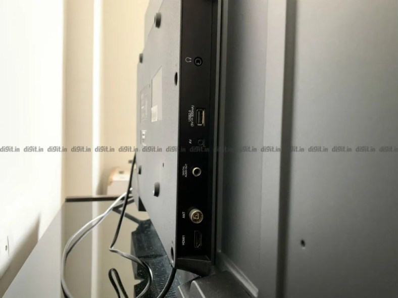 The Realme TV has 3 HDMI ports and 2 USB ports.