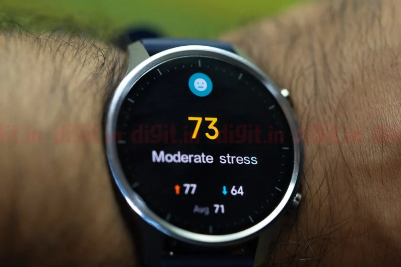 Mi Watch Revolve uses FirstBeat Motion algorithms to accurately measure your body energy levels and also stress