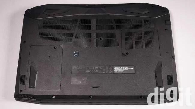 Acer Nitro V AN515-51 Underside bottom