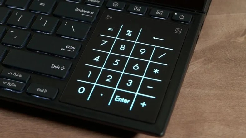 ZenBook Pro Duo 15 OLED Touchpad