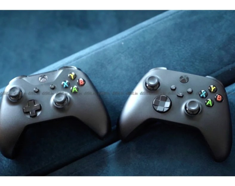 The Xbox Series X controllers looks quite similar to the Xbox One controller.