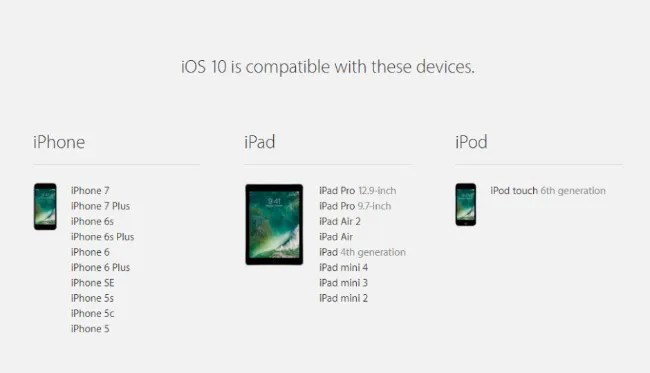 Apple rolls out iOS 10, WatchOS 3 to iPhones, iPads, Apple
