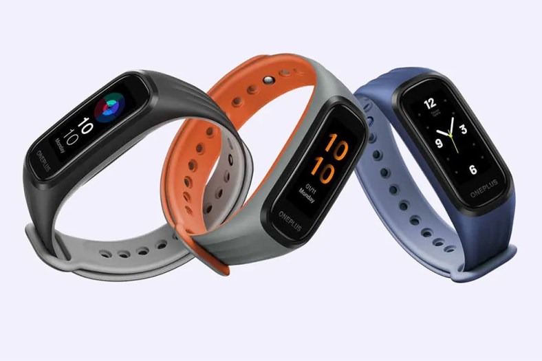 The OnePlus Band comes in three attractive colours