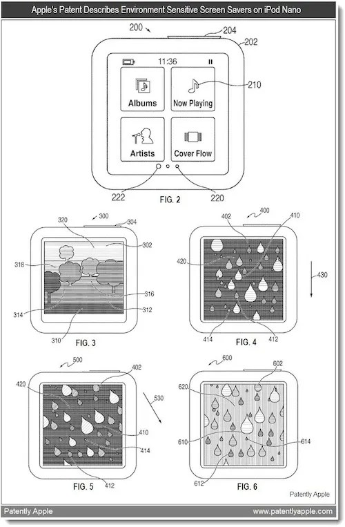 Apple patent reveals possible 7th gen iPod Nano, with
