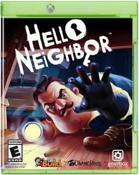 Game Hello Neighbor Xbox One Video Games Box Digitec
