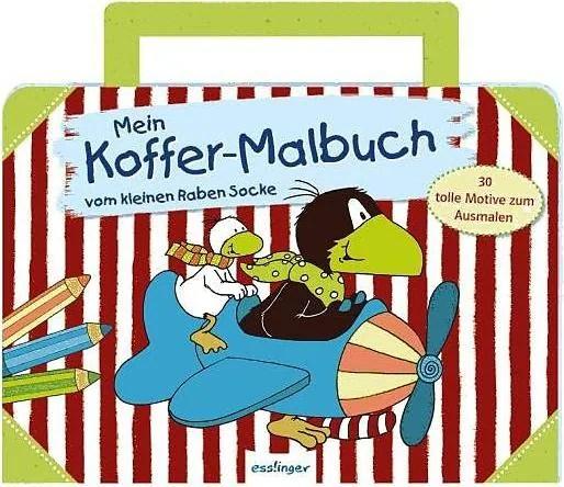 Verkaufseinheit Kleiner Rabe Socke Mein Koffer-Malbuch