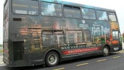Harry Potter buses carry health workers in London for free