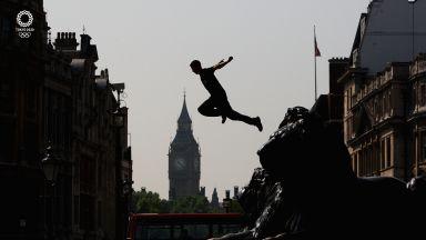Славното бъдеще на Олимпиадата са тези, които скачат от сгради