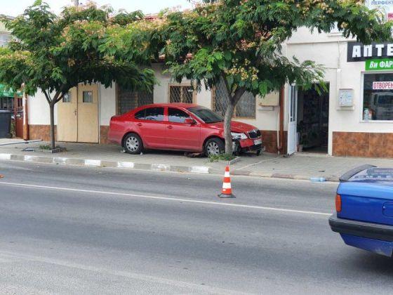 Служебният автомобил на МВР, който е блъснал детето