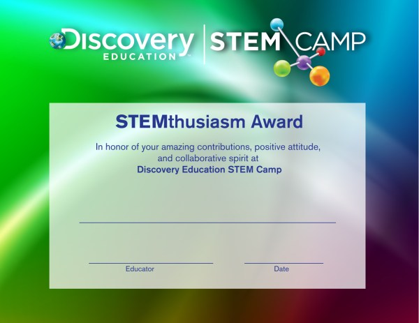 Discovery Education Stem Camp