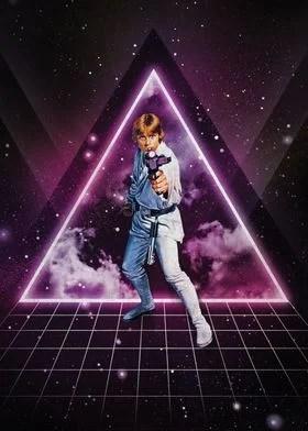 luke skywalker poster by star wars