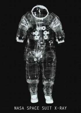 nasa space suit x ray