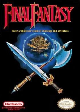 nes cover final fantasy