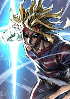 all might posters art prints