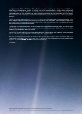 pale blue dot voyager 1 poster by