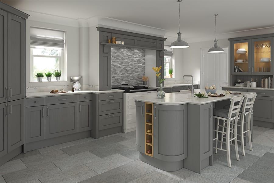 Marsden Dust Grey Kitchens Buy Marsden Dust Grey Kitchen Units At Trade Prices