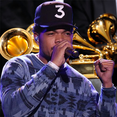 Image result for chance the rapper photos at grammys
