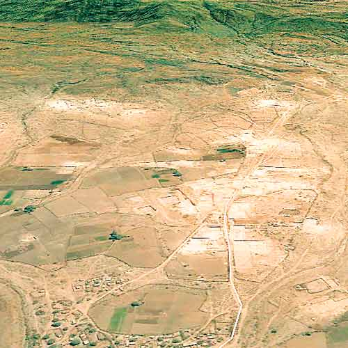 Limestone mining in Saurashtra, Kutch & North Gujarat has turned many hills into flat grounds.