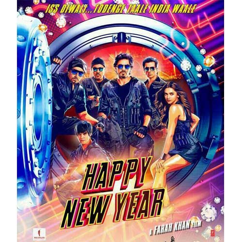 Image result for happy new year poster shahrukh