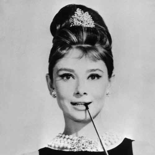 Audrey Hepburns beehive hairdo listed as most iconic