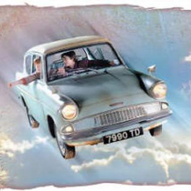 Image result for flying car harry potter