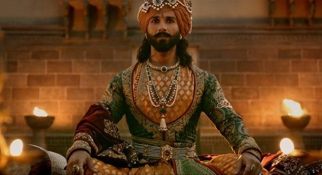Image result for padmaavat shahid kapoor