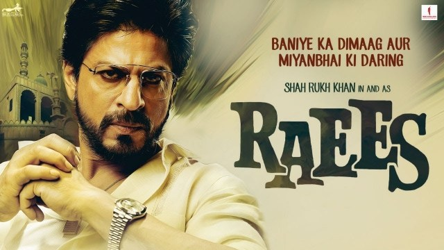 Indian crime action film directed by Rahul Dholakia and produced by Gauri Khan Raees 480p HDTV 500 MB
