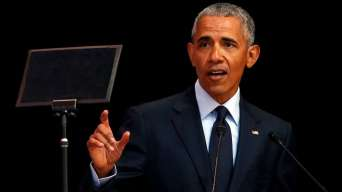 Image result for Obama cautions against rise of strongmen