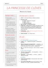 La Princesse De Clèves Résumé Détaillé : princesse, clèves, résumé, détaillé, Princesse, Clèves, Lecture, Analytique, Docsity