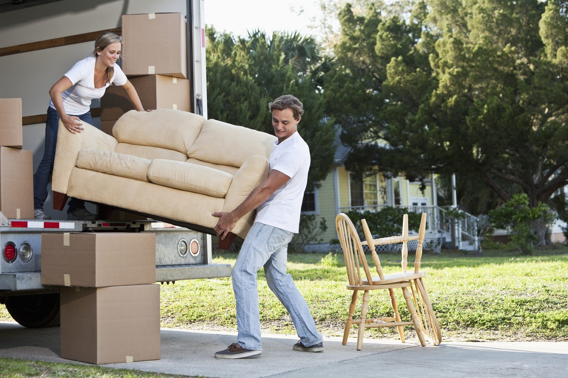 Organising A Diy House Move