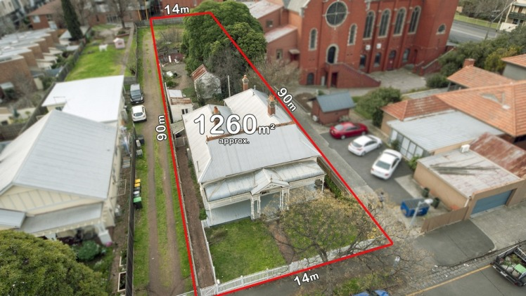 The enormous block raised the interest of the local church group and developers. Photo: Supplied