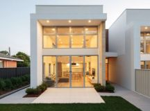 Sun streams into this contemporary Mawson townhouse