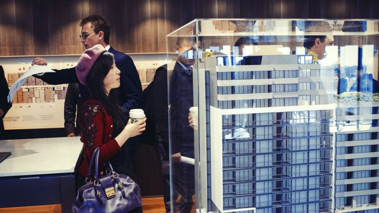 Chinese buyers have typically favoured new apartments in recent years.