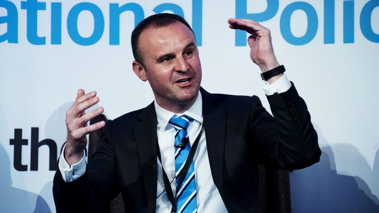 """Chief Minister Andrew Barr is aiming to deliver """"high-quality accommodation""""."""