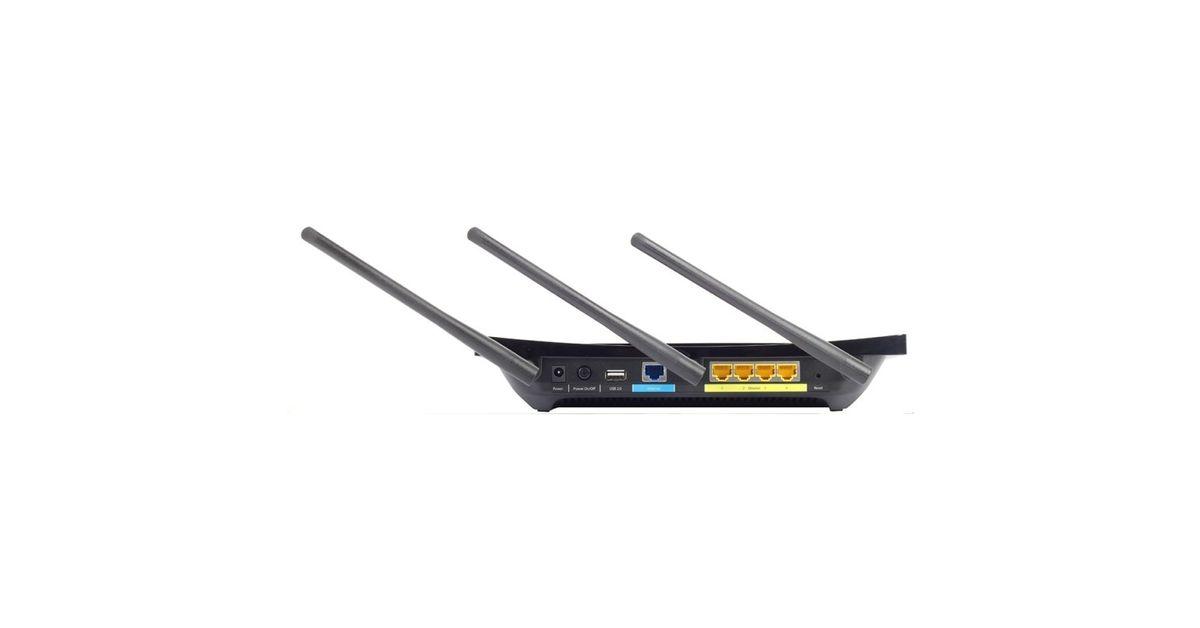 Roteador TP-LINK AC1900 P5 TOUCH WiFi Gigabit USB Preto
